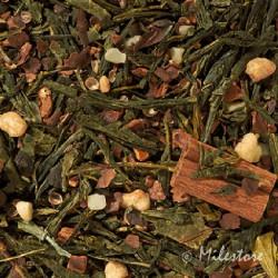Sencha Schoko - Weihnachtstee - Grüner Tee