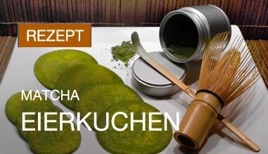 Probieren Sie Rezepte mit Matcha